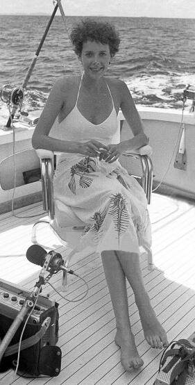 Sylvia Kristel smile