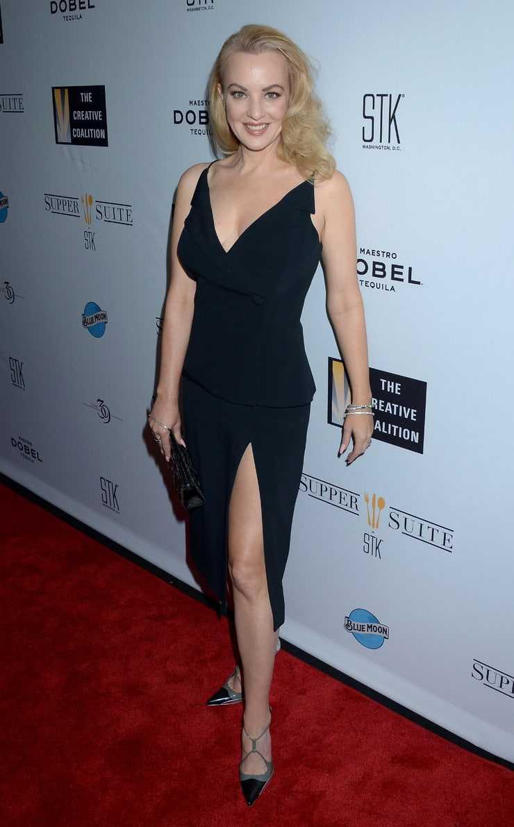 Wendi McLendon-Covey sexy leg