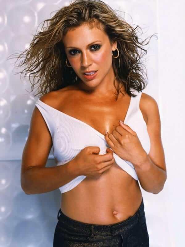 alyssa milano too sexy