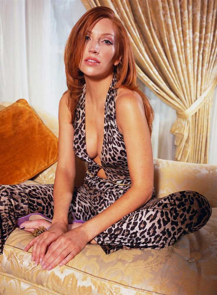 angelica bridges cleavage