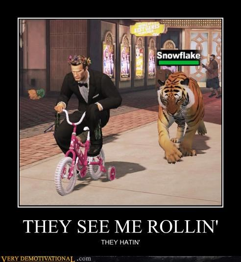 chucklesome They See Me Rollin memes