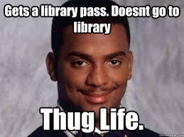 comic Thug life memes