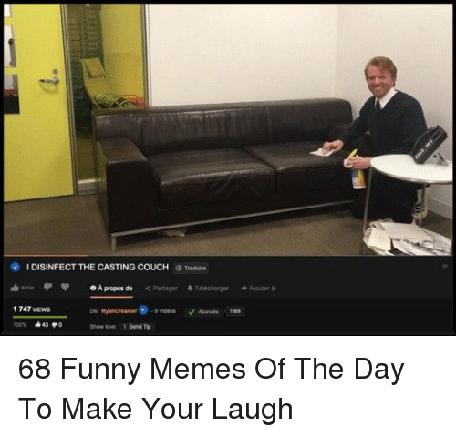 comical The Casting Couch memes