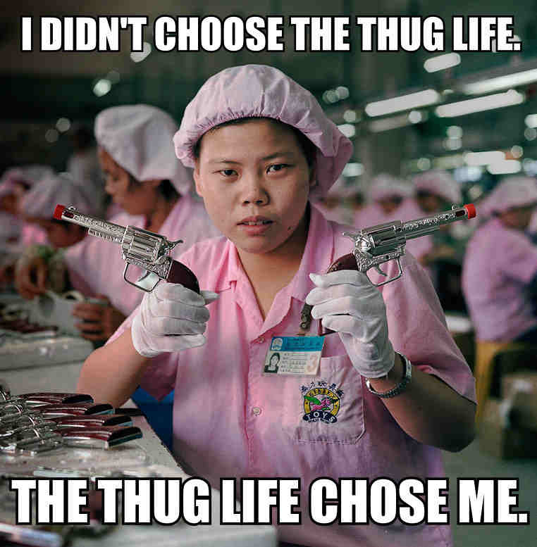 entertaining Thug life memes