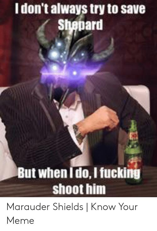 high-spirited Marauder Shields memes
