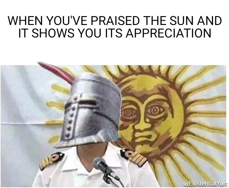 humorous Solaire of Astora memes