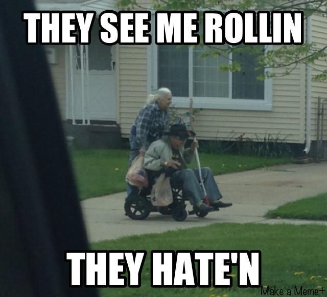 jolly They See Me Rollin memes