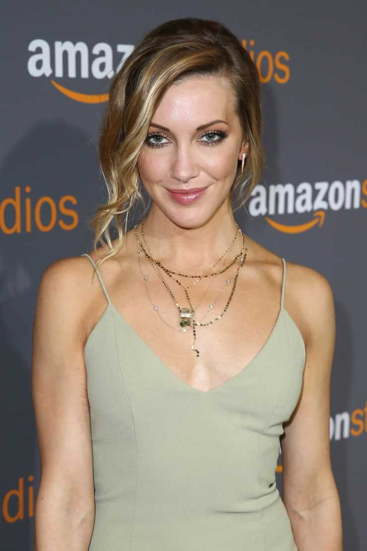 katie cassidy hot cleavage