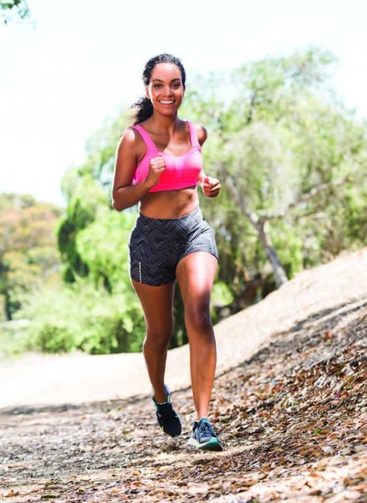 lyndie greenwood running