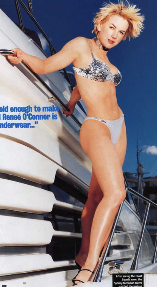 renee oconnor hot legs