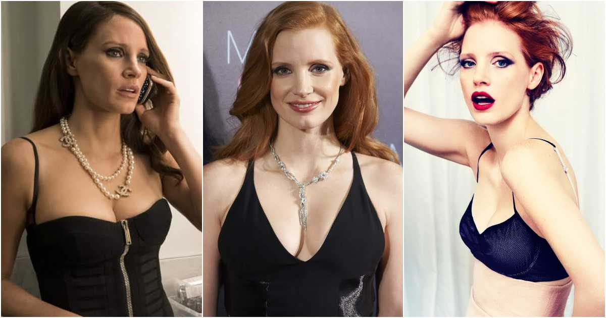 61 Jessica Chastain Sexy Pictures Will Heat Up Your Blood With Fire And Energy For This Sexy Diva
