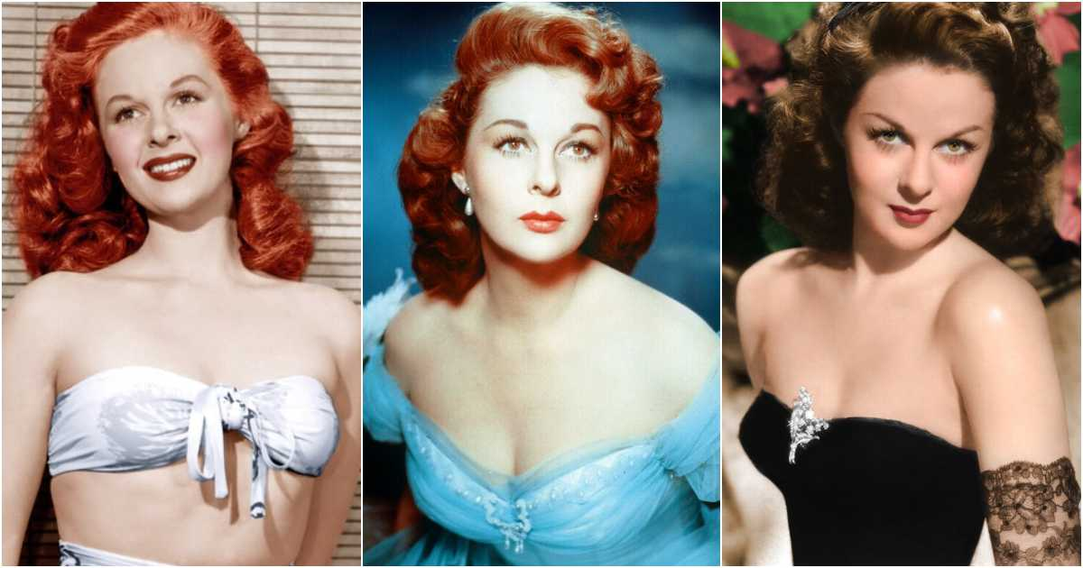 61 Susan Hayward Sexy Pictures Will Induce Passionate Feelings for Her