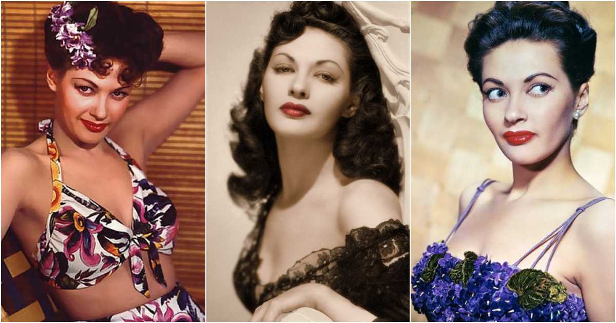 61 Yvonne De Carlo Sexy Pictures Which Will Cause You To Surrender To Her Inexplicable Beauty