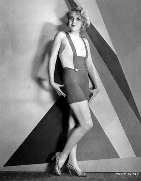 Anita Page hot legs pic