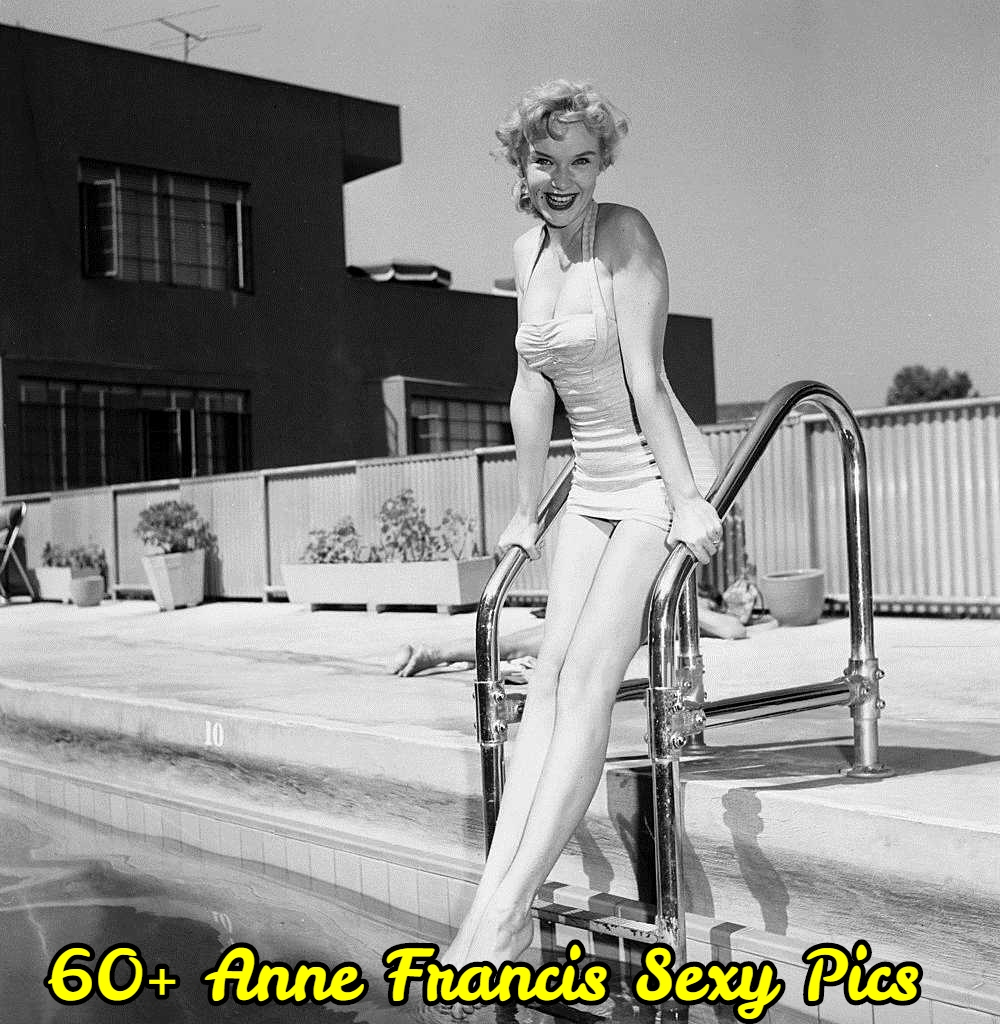 Anne Francis bikini