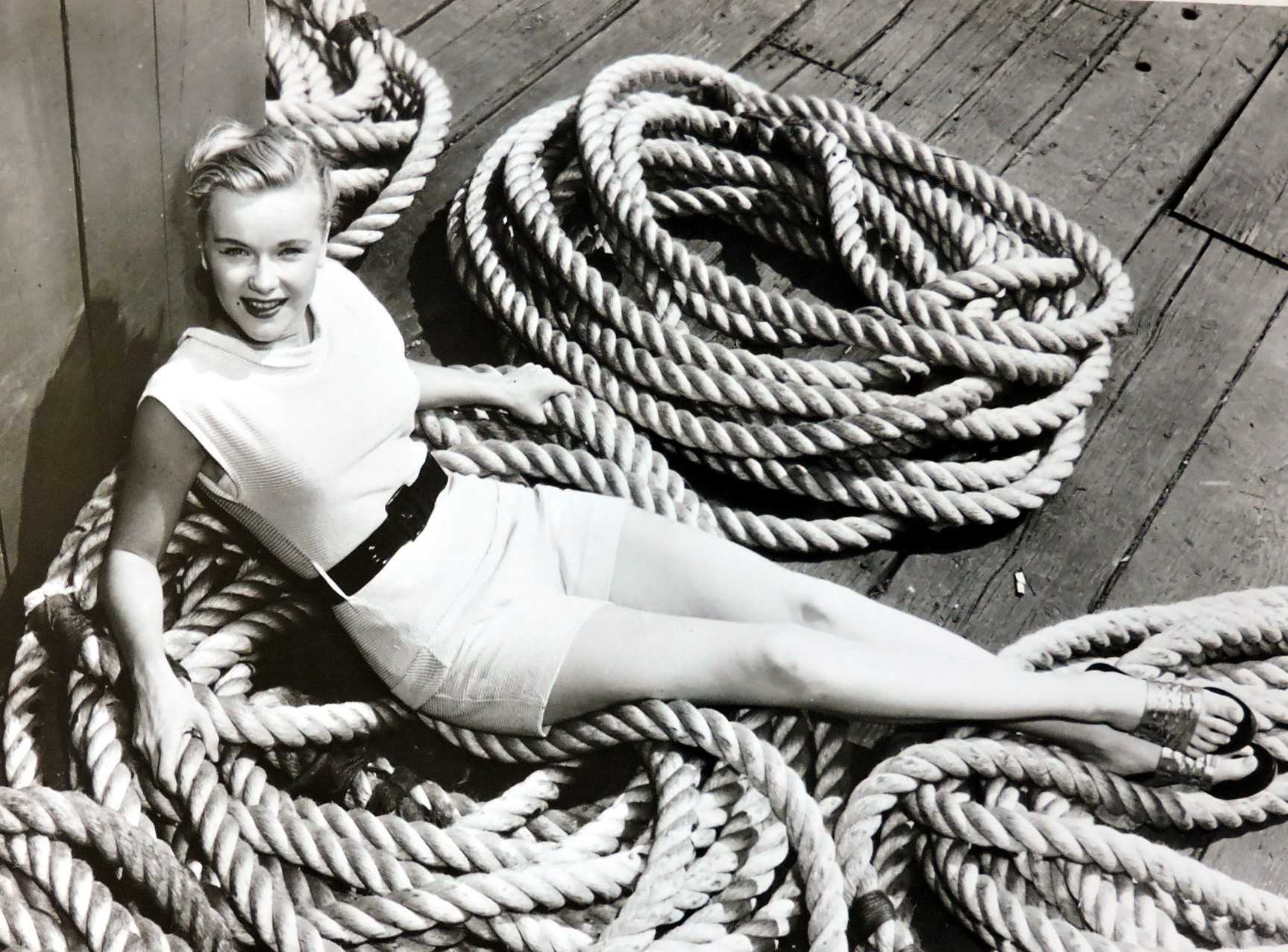 Anne Francis lovely