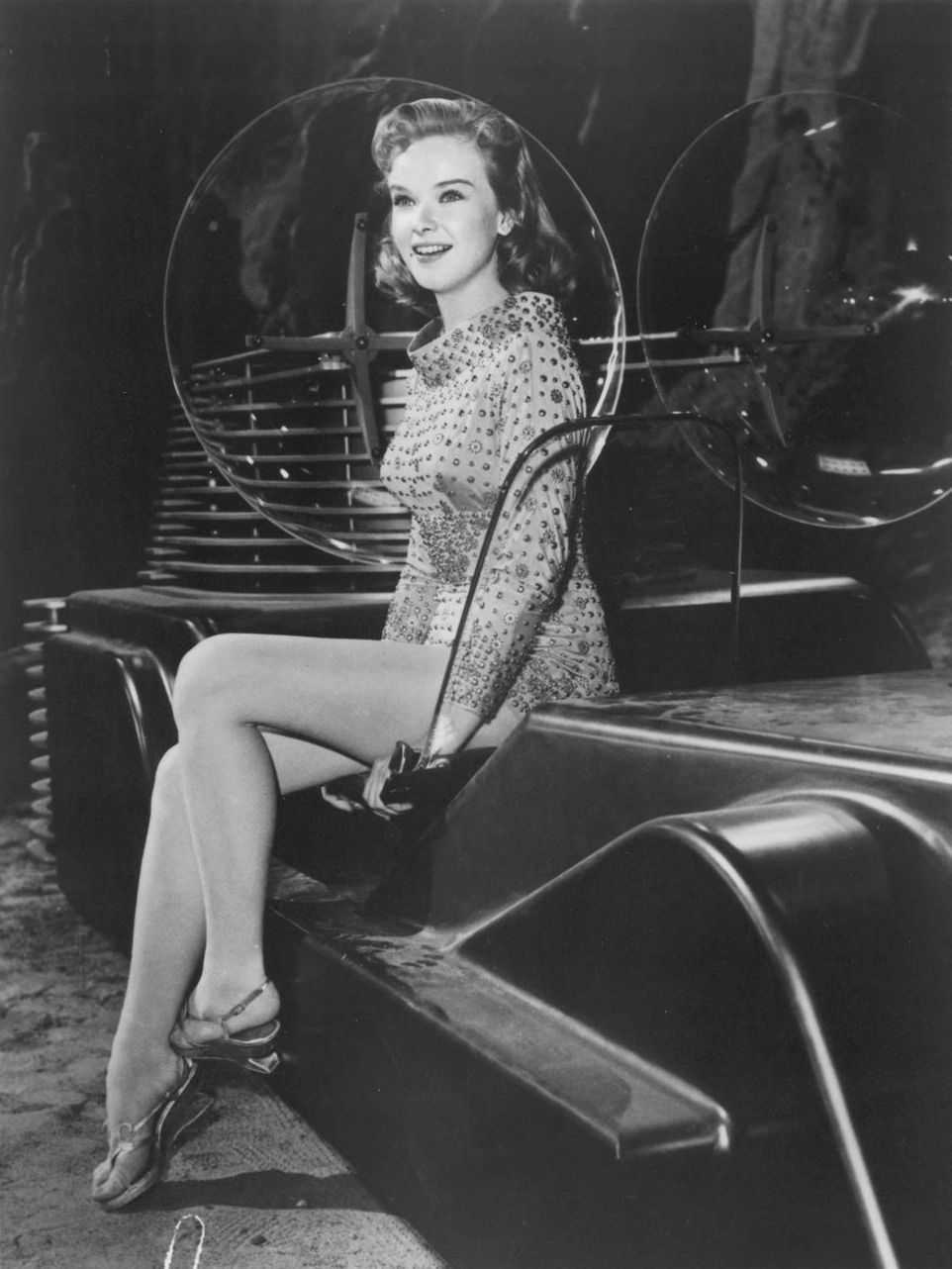 Anne Francis sexy