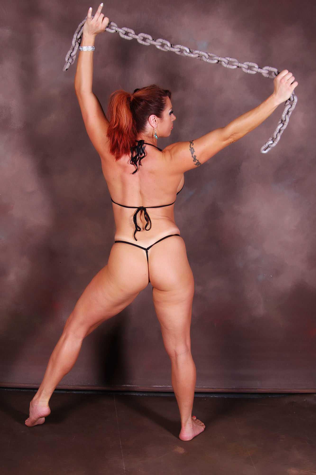 April Hunter sexy butt pic