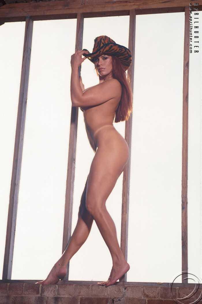 April Hunter sexy near nude pic
