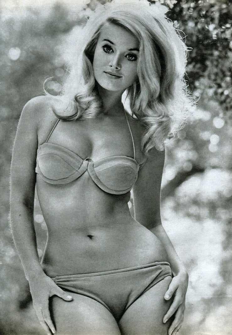 Barbara Bouchet lingerie