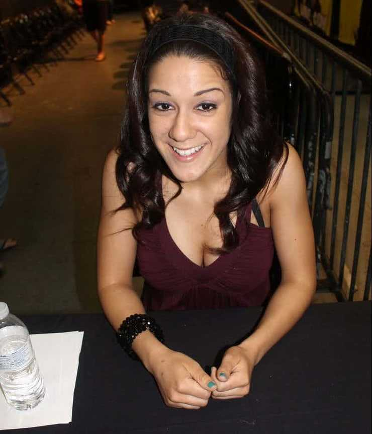 Bayley cleavage pic