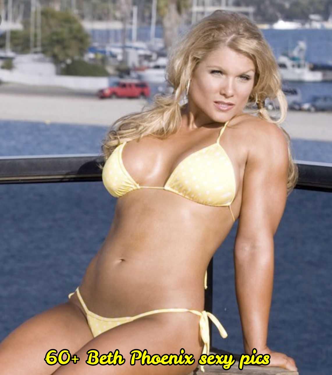 Beth Phoenix sexy bikini pic