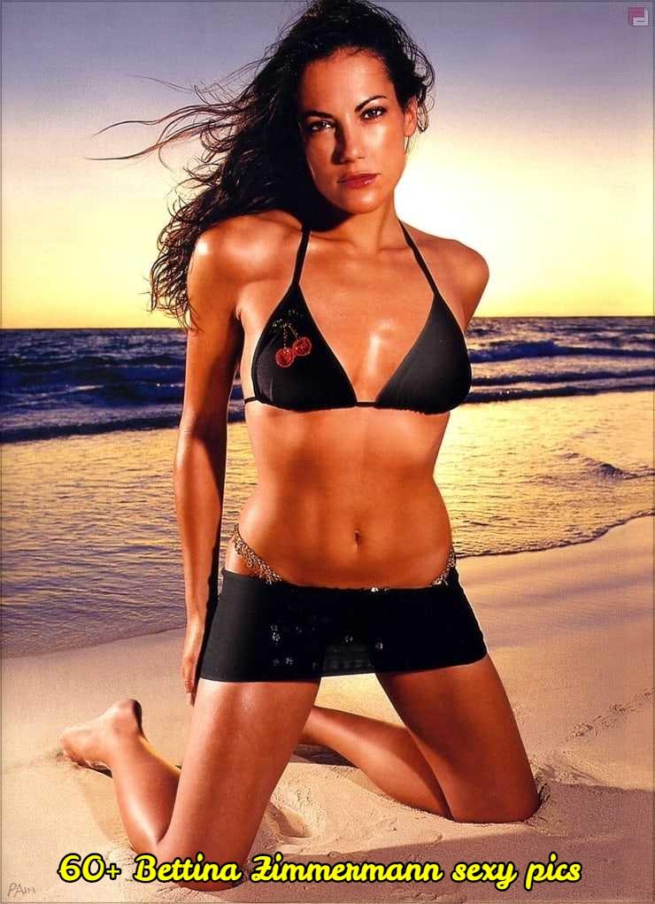 Bettina Zimmermann sexy bikini pictures