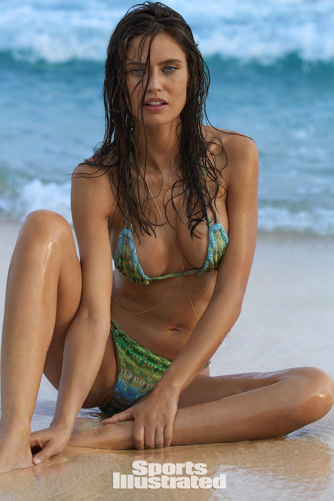 Bianca Balti swimsuit