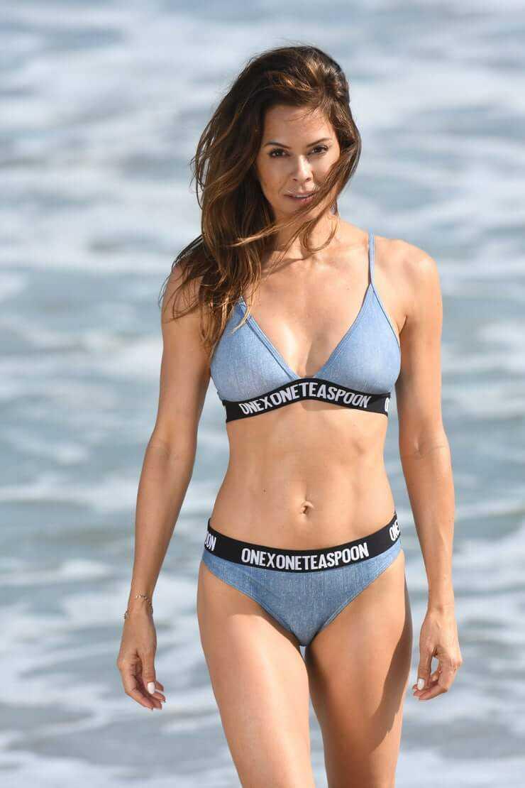 Brooke Burke Charvet bikini