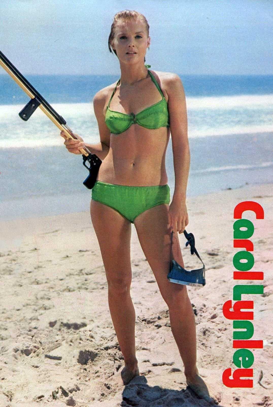 Carol Lynley bikini