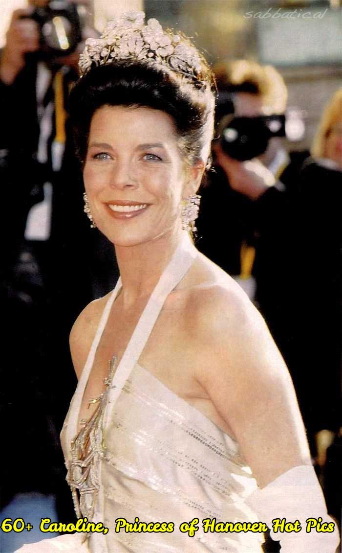 Caroline, Princess of Hanover side boobs