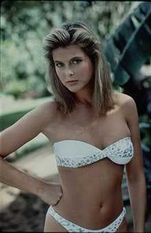 Catherine Oxenberg bikini