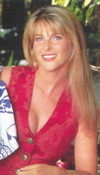 Catherine Oxenberg cleavage