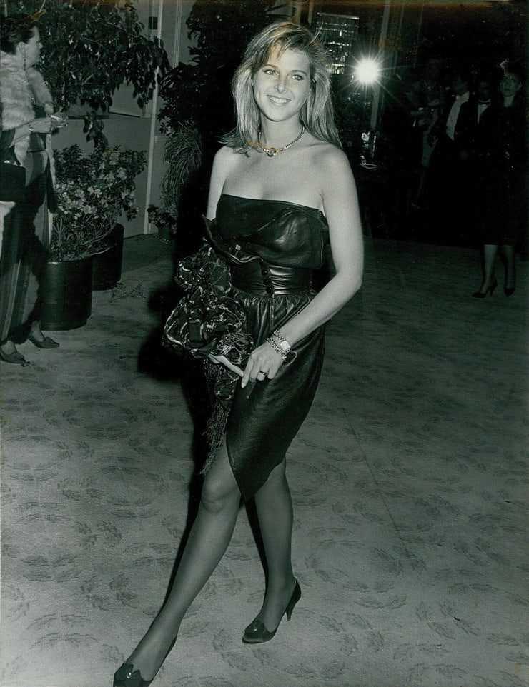 Catherine Oxenberg dress