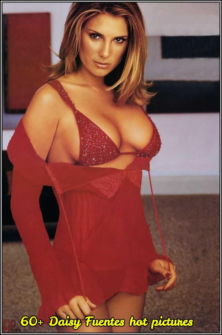 Daisy Fuentes sexy red bikini pic