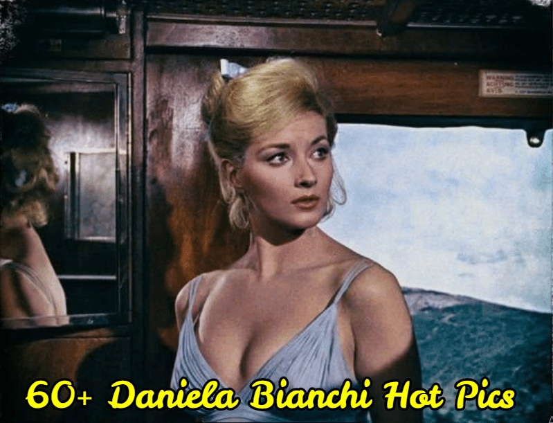 Daniela Bianchi side boobs