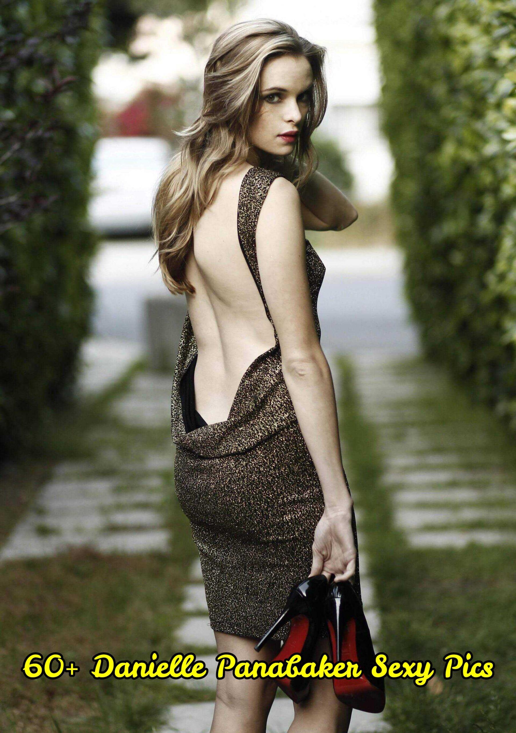 Danielle Panabaker backless