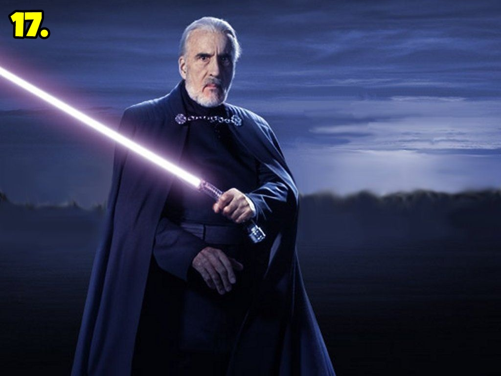 Darth Tyranus aka Count Dooku