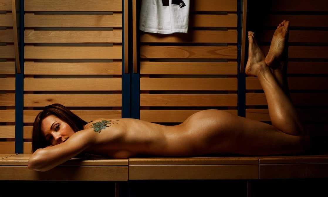 Denisa Rosolová near nude