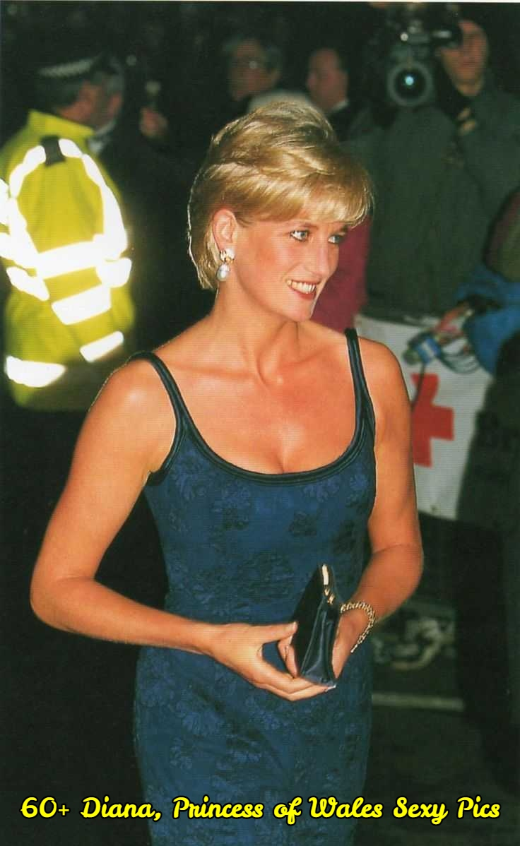 Diana, Princess of Wales cleavage