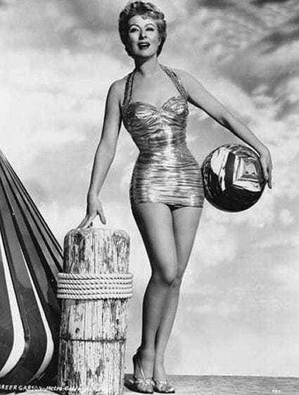 Greer Garson bikini