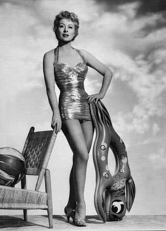 Greer Garson cleavage