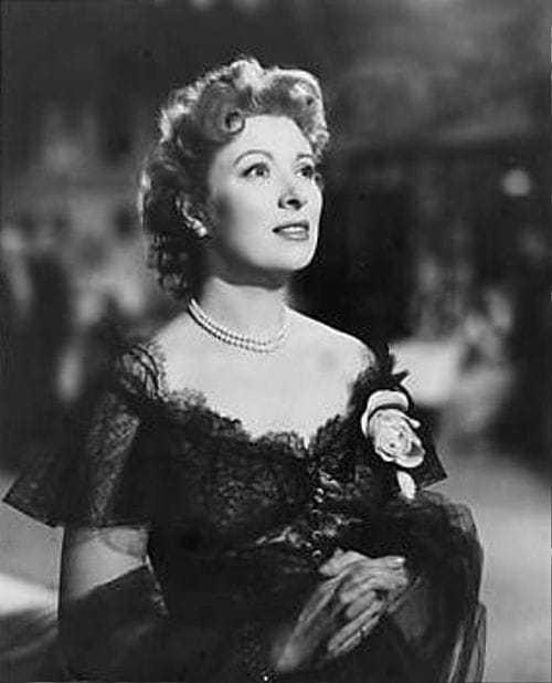 Greer Garson hot cleavage