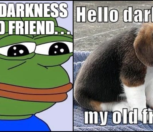 Hello Darkness My Old Friend Memes Archives Geeks On Coffee
