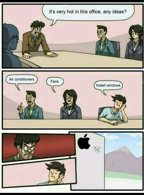 Hilarious Boardroom Suggestion memes