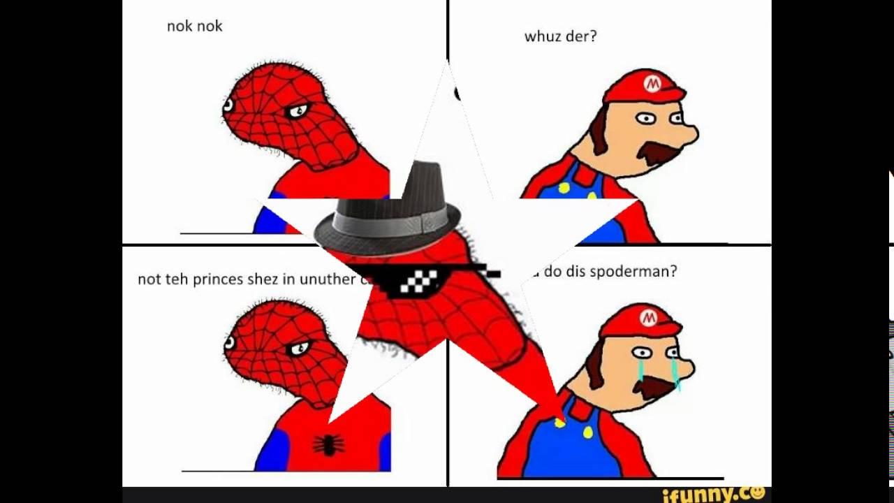 Hilarious Spoderman memes