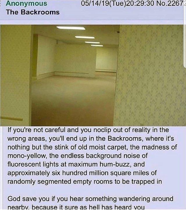 Hilarious The Backrooms memes