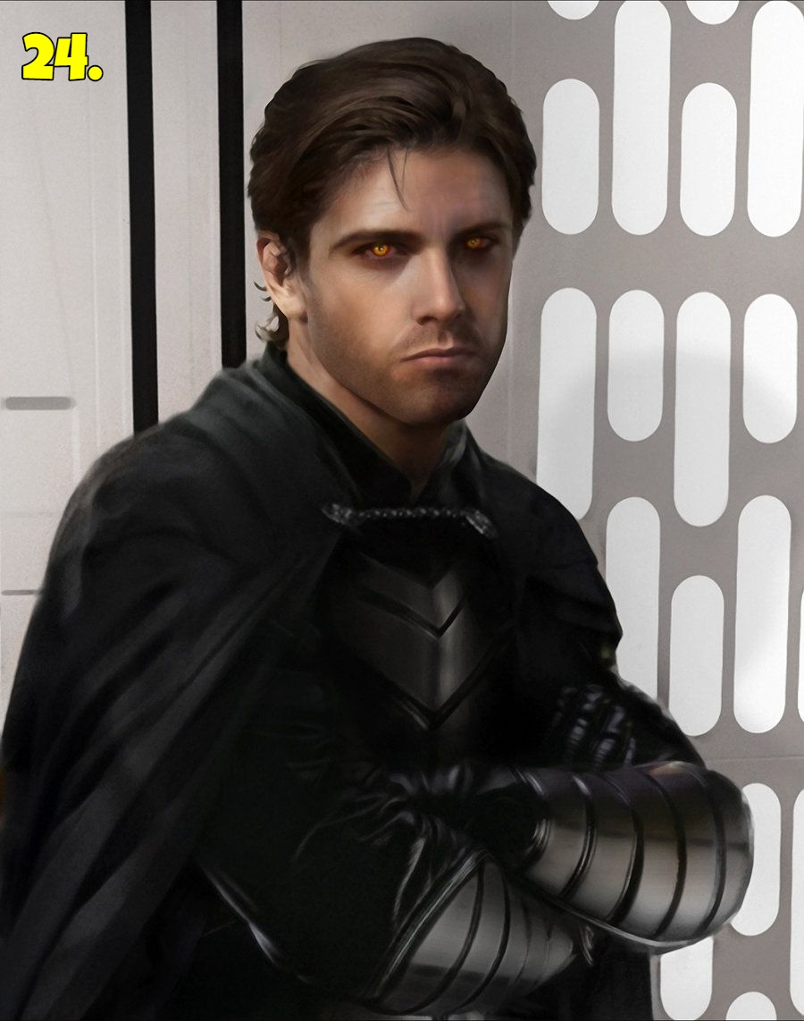 Jacen Solo otherwise known as Darth Caedus
