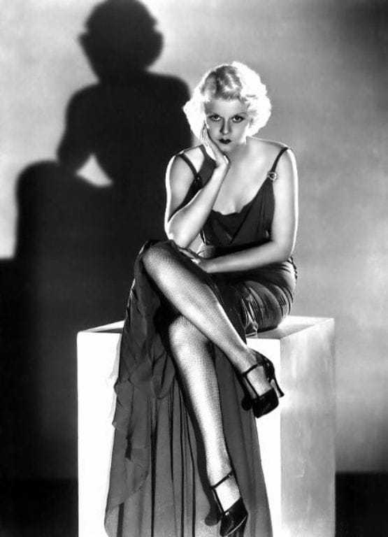 Jean Harlow sexy feet pic