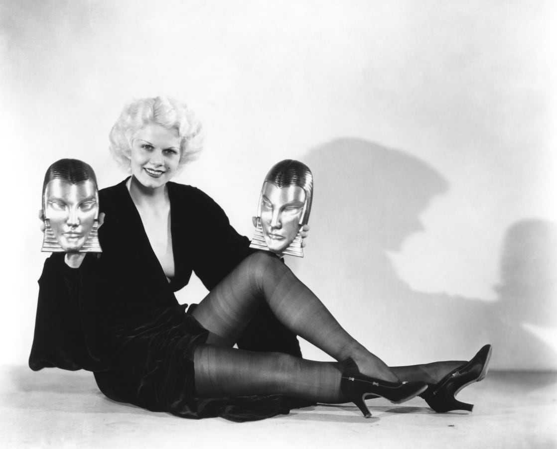 Jean Harlow sexy feet pictures